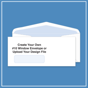morewithprint.com 10 Window Business Envelope Create Your Own THUMBNAIL WP