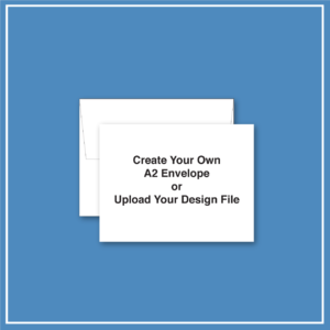 morewithprint.com A2 Announcement Business Envelope Create Your Own THUMBNAIL WP