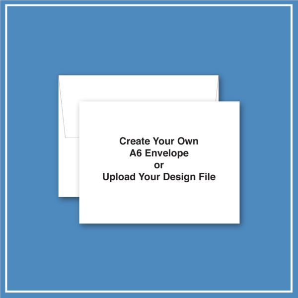 morewithprint.com A6 Announcement Business Envelope Create Your Own THUMBNAIL WP