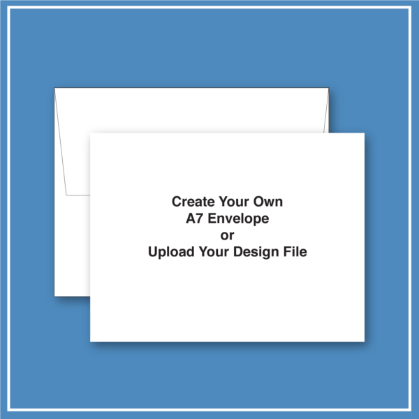morewithprint.com A7 Announcement Business Envelope Create Your Own THUMBNAIL WP