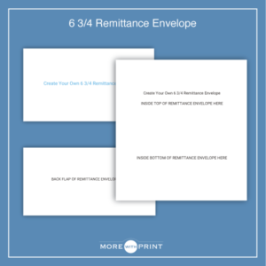 #6 3/4 Remittance Envelopes