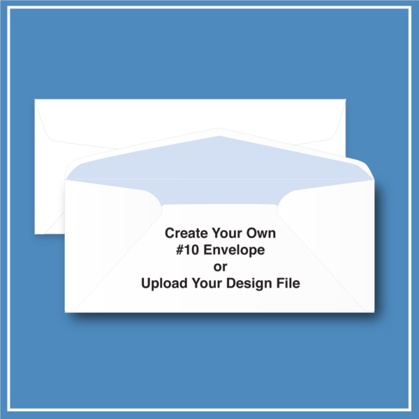 morewithprint.com 10 Regular Business Envelope Create Your Own THUMBNAIL WP
