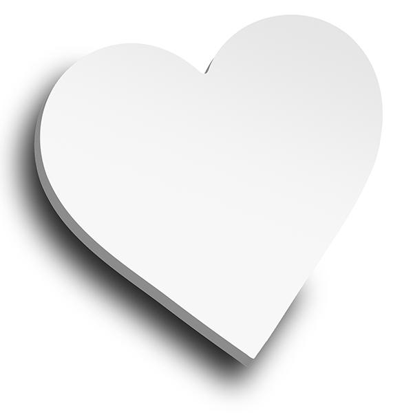 XL Heart die virtual