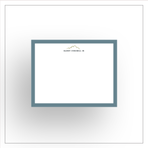 morewithprint a size notecards flat style mens thumbnail Mock up Mountain