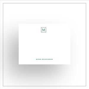 morewithprint a size notecards flat style mens thumbnail Mock up Square Mono