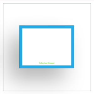 morewithprint a size notecards flat style thumbnail Mock up womens