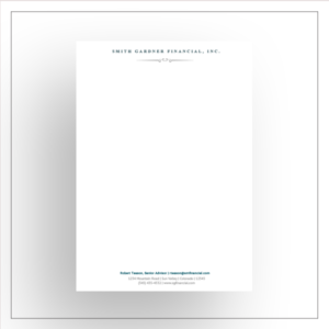 morewithprint monarch Letterhead him thumbnail Design