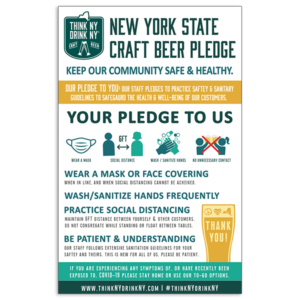 NYS craft beer pledge detailed