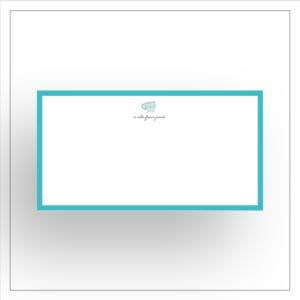 Monarch notecard Clipart