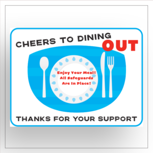 disposable adhesive placemats 18 x 24