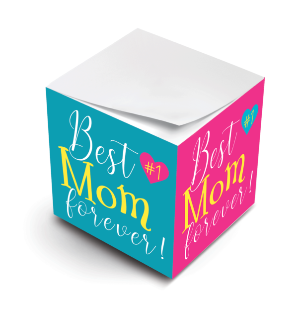 MWP Moms Sticky Note Cube Virtual