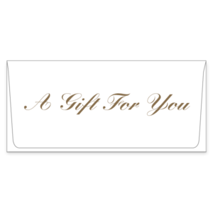 A Gift for You Currency Envelope