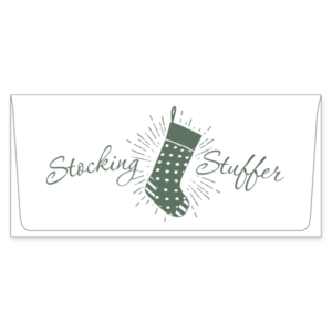 stocking stuffer currency envelope