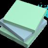 stik-withit pastel 3 x 3 sticky notepads