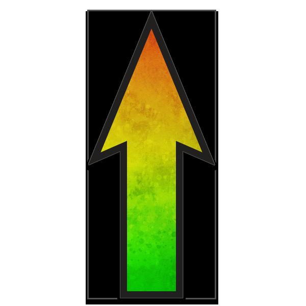 FloorWallStickers Fun Product Images Neon Green Burst
