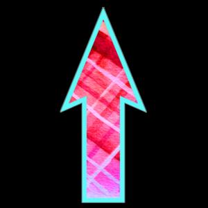 FloorWallStickers Fun Product Images Neon Pink Plaid