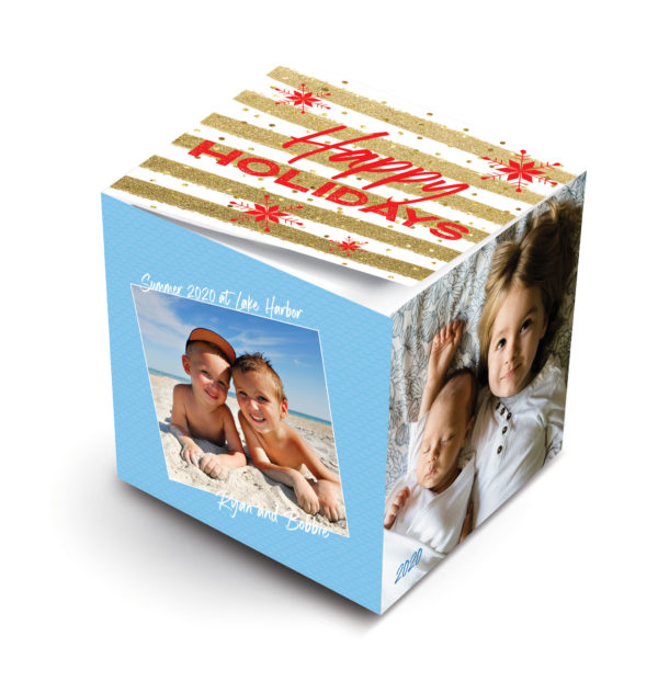 MWP Sticky Note Cube Virtual Holiday Top S