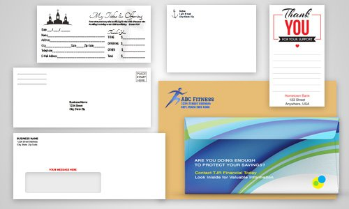 Various Sized Envelopes
