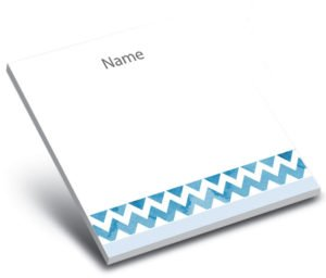 3 x 3 Personalized Sticky Notepad