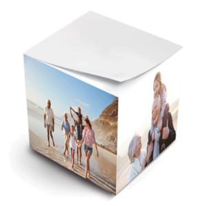 photo paper sticky note cube family generations