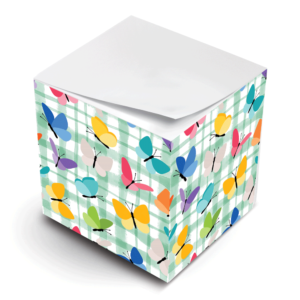 SNP Cube Butterfly Plaid