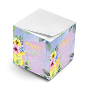 happy mothers day floral mug sticky notes